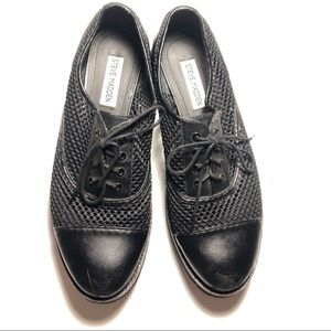 Steve Madden Shoes - STEVE MADDEN goth office fishnet Oxford shoes
